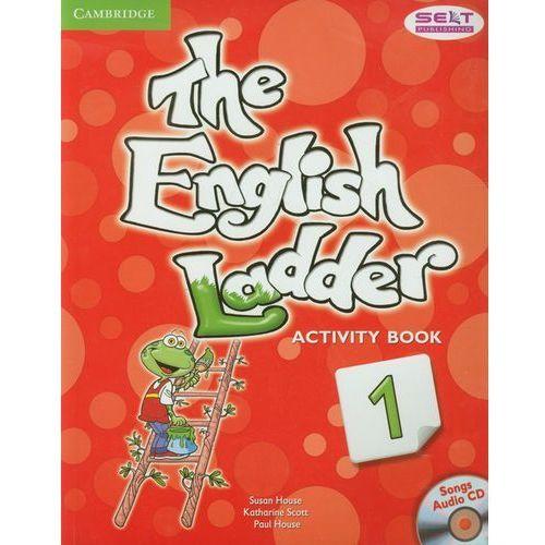 Książki do nauki języka, English Ladder 1 Activity Book + CD (opr. miękka)