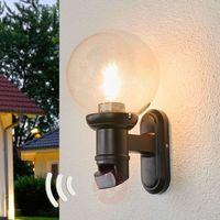 Lampy ścienne, STEINEL 634216 - Kinkiet zewnętrzny z czujnikiem ruchu Steinel 634216 - L 560 S czarny