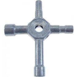 Nieanodyzowany klucz do kół ( M5.5, M7, M8, M10)