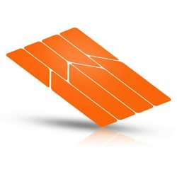 Riesel Design re:flex frame Naklejki odblaskowe, pomarańczowy 2021 Akcesoria do ram Przy złożeniu zamówienia do godziny 16 ( od Pon. do Pt., wszystkie metody płatności z wyjątkiem przelewu bankowego), wysyłka odbędzie się tego samego dnia.