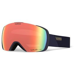 Giro Contact Gogle, midnight peak/vivid copper/vivid infrared 2019 Gogle narciarskie