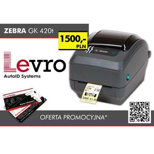 Drukarki termiczne i etykiet, Zebra GK420T