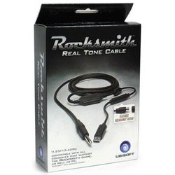 Kabel UBISOFT Rocksmith Real Tone Pc, Ps3, X360, Ps4, Xone (USB 2.0 M - Jack 6,3 mm M; kolor czarny)