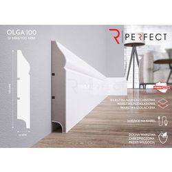 Listwa przypodłogowa MDF Olga 100 - 16x100x2620 mm