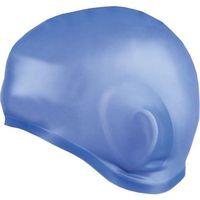 Czepki, Czepek silikon-z uchem Earcap Spokey 837423 niebieski