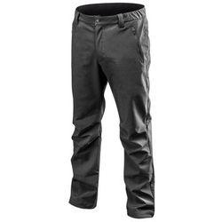 Spodnie robocze SOFTSHELL ocieplane czarne XL NEO