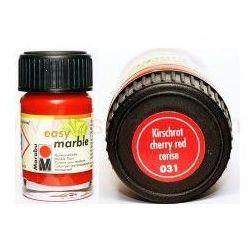 Farba do marmurkowania Easy Marble Marabu 15 ml - 031 Kirschrot
