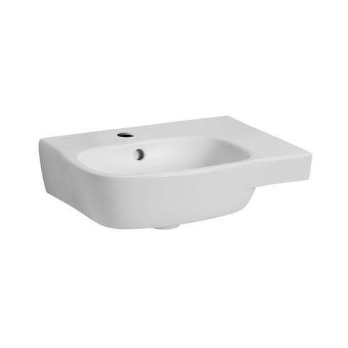 Umywalki, KOŁO Umywalka asymetryczna STYLE 65 cm, z otowrem, prawa/REFLEX Kod produktu: L21765-900