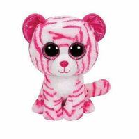 Pluszaki zwierzątka, Ty Beanie Boos Asia - Biało-Różowy Tygrys - Brelok