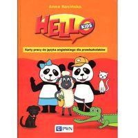Książki do nauki języka, Hello Kids Karty pracy do języka angielskiego dla przedszkolaków (opr. miękka)
