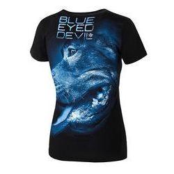 Koszulka damska Pit Bull Blue Eyed Devil X - Czarna (217055.9000)