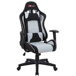 Fotel obrotowy SIGNAL Zanda czarny-szary Fotel gamingowy dla gracza! DOSTAWA GRATIS