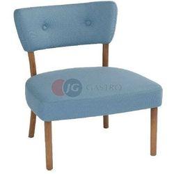 Krzesło bez podłokietnika typu lounge Buk Paged M-9460