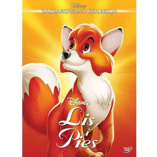 Filmy animowane, LIS I PIES (DVD) DISNEY ZACZAROWANA KOLEKCJA (Płyta DVD)