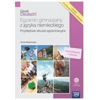Książki do nauki języka, Das ist Deutsch Egzamin gimnazjalny z języka niemieckiego + 2 CD-Audio (opr. broszurowa)