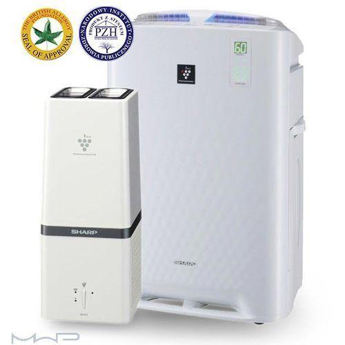 Oczyszczacze powietrza, Inteligentny oczyszczacz powietrza z funkcją nawilżania + Generator Plasmacluster HD