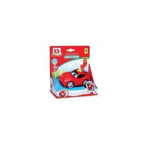 Osobowe dla dzieci, BB Junior Ferrari Samochód Światło i dźwięk
