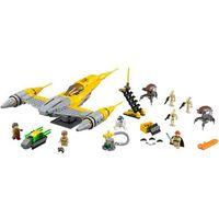 Klocki dla dzieci, 75092 GWIEZDNY MYŚLIWIEC NABOO Naboo Starfighter KLOCKI LEGO STAR WARS