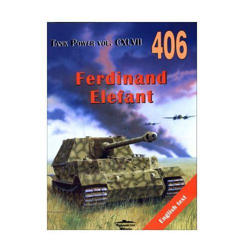 Historia, Ferdinand Elefant. Tank Power vol. CXLVII 406 (opr. broszurowa)