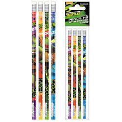 Ołówek z gumką STARPAK 297701 Ninja Turtles (4 sztuki)