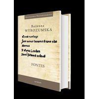 Historia, Fontes Prace wybrane z dziejów średniowiecza i nauk pomocniczych historii (opr. twarda)