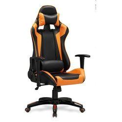Fotel gamingowy Halmar DEFENDER-pomarańczowy - fotel dla gracza - ZŁAP RABAT: KOD30