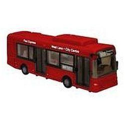 Autobus miejski 1:48 czerwony