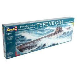 Statek 1:144 05100 Submarine type VII C/41 Revell