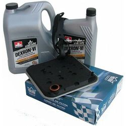 Filtr oraz olej Dextron-VI automatycznej skrzyni biegów 4SPD Dodge Journey