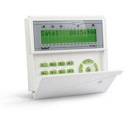 INT-KLCDR-GR Klawiatura do centrali alarmowej z czytnikiem kart zbliżeniowych Satel