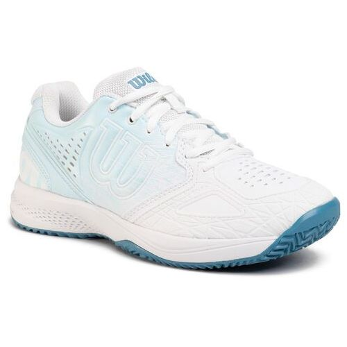 Tenis ziemny, Buty WILSON - Kaos Comp 2.0 WRS326180 Wh/Niagara/Omphalodes