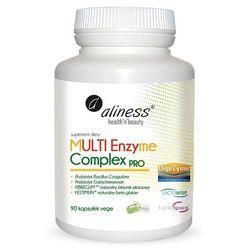 MULTI Enzyme Complex PRO Multi roślinne enzymy trawienne 90 kaps