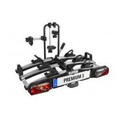 Składany bagażnik na rowery EUFAB PREMIUM III uchwyt na hak + torba
