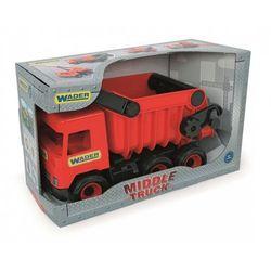 Middle Truck Wywrotka czerwona w kartonie - Wader