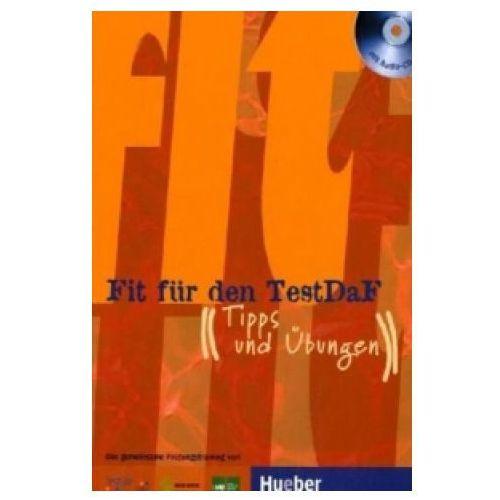 Książki do nauki języka, Fit Für Den Testdaf Ćwiczenia + CD (opr. miękka)