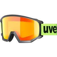 Kaski i gogle, UVEX Athletic CV Gogle, black mat/colorvision orange storm 2019 Gogle narciarskie