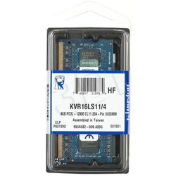 Kingston DDR3 4GB KVR16LS11/4 SODIMM
