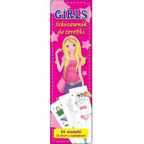 Literatura młodzieżowa, Girls. Szkicownik do torebki. Różowy Campbell Katarzyna (opr. miękka)