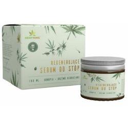 Regenerujące serum do stóp z CBD o zapachu drzewa herbacianego