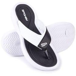 Klapki basenowe SPOKEY Chillout Czarno-Biały (rozmiar 40)