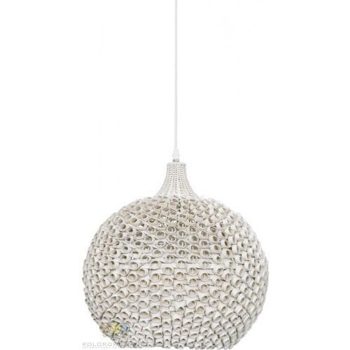 Lampy sufitowe, Lampa wisząca COLIN WHITE - 1xE27/40W/230V