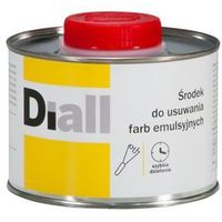 Rozcieńczalniki i rozpuszczalniki, Środek do usuwania farby emulsyjnej Diall 0,4 l