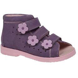 Sandały Profilaktyczne Ortopedyczne DAWID 1043 - Fioletowy   Różowy   Multikolor
