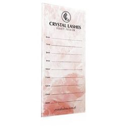Lash Holder Crystal Lashes Pink New