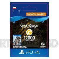 Pozostałe akcesoria do konsol, Tom Clancy's Ghost Recon: Breakpoint 12000 Ghost Coins [kod aktywacyjny] PS4