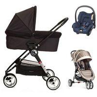 Wózki wielofunkcyjne, Baby Jogger City Mini+GRATIS+gondola+fotelik (do wyboru)