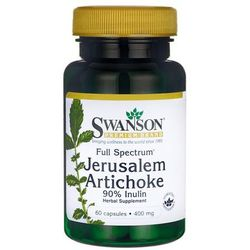 Swanson Full Spectrum Jerusalem Artichoke Słonecznik bulwiasty (Inulina) 60 kaps.
