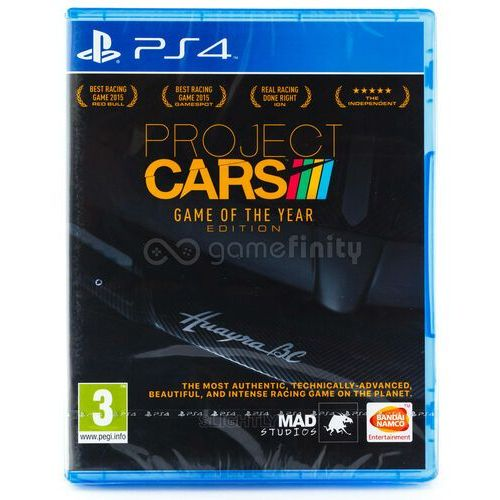 Gry na PS4, Project Cars (PS4)
