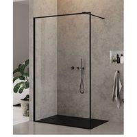 Ścianki prysznicowe, Ścianka 90 cm EXK-0106 New Modus Black New Trendy UZYSKAJ RABAT NA KABINĘ W SKLEPIE