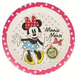 Minnie Mouse - Talerzyk deserowy bambusowy
